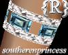 (Sp) BlueTopaz bangle R