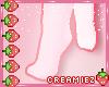 Belle Pink Sockies