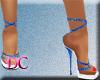 (DC)Strap Platform Blue