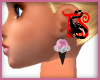 TS Blk IceCream Earrings