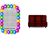 tic tac toe couch