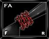 (FA)WristChainsOLFR Red