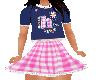 Flat Checkered Hi dress