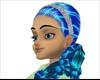 Salma multi blue