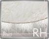 Rus: RH white fur rug