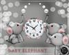 BABY ELEPHANT CLOCK