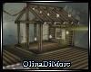 (OD) Open garden hut