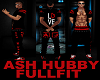 ASH~HUBBY~FIT~RED~N~BLK