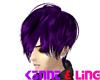 Kaiya Purple Hair