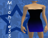 [m55] Sexy Blue Dress
