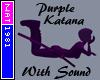 (Nat) Purple Katana