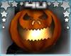 Halloween Hand Pumpkin