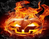 (ld)burning pumpkin anim