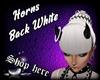 Horns Black/White