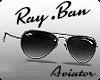 RayBan Aviator Silver