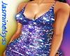 Blue Plum Sparkle Dress