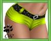 CW Hot Shorts Lime RL