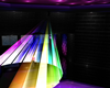 neon rainbow laser light