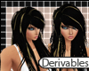 D- Black/Blonde Trinity