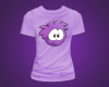 Purple Puffle T-Shirt