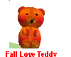 Fall Love Teddy