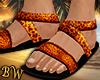 Leopard Beach Sandals -G