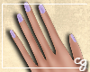 cg. Lavender Nails