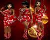 Xmas red dress BMXXL