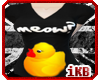 Confused duckie shirt