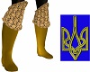 Golden Armour Boots
