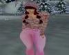 pink winter sweater 2