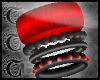 TTT Mixed Bangles ~ Red