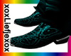 [L] Snake Aqua boots