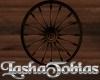 Wagon Wheel Decoration