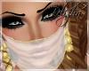 [B] Arabic veil White