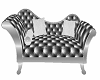 ~D~ Chaise Silver