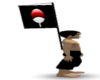 >S< Uchiha Back Flag