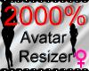 *M* Avatar Scaler 2000%