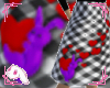 Bunny Hop Skirt B&Purple