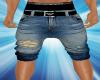 Armani Long Denim Shorts