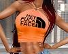 Sexy Fuc Face Orange Top