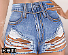 Ripped Jean Shorts RLS