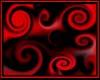 Retro Rug red black