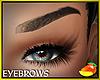 brows Mere black