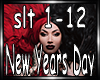 New Years Day -Skeletons