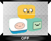 .:. Adventure Time Cubes