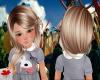 Megs blonde Saxon Hair