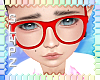 !!S Kid Glasses Red