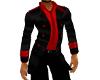 WTII  RED AND BLACK COAT