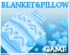Baby BlueV Blanket